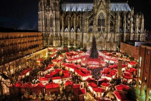 bezoek kerstmarkt Bonn + ontbijt