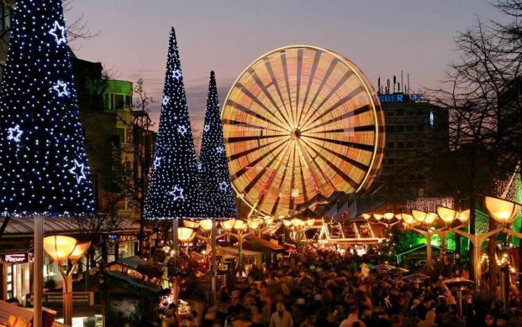 bezoek kerstmarkt duisburg + ontbijt